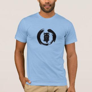 Team Hoot Zen Black Logo T-Shirt
