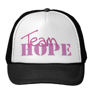 Team hope trucker hat