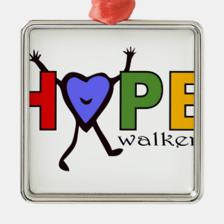 Team Hope Walkers for Walk Your A.S. Off Metal Ornament