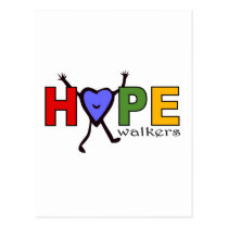Team Hope Walkers for Walk Your A.S. Off Postcard