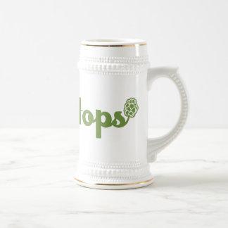 Team Hops Beer Stein Mugs