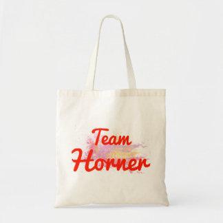 Team Horner Tote Bags