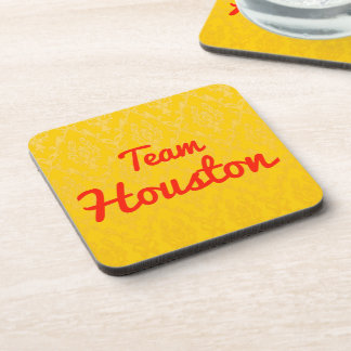 Team Houston Drink Coaster