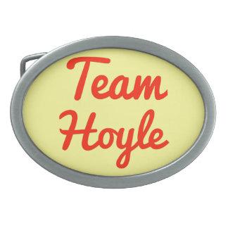 Team Hoyle Oval Belt Buckles