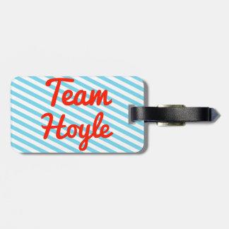Team Hoyle Travel Bag Tag