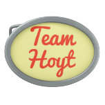 Team Hoyt Belt Buckles