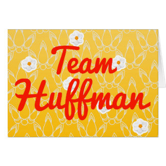 Team Huffman Card