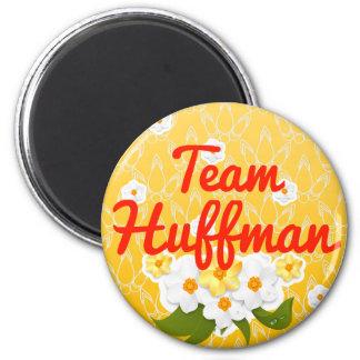 Team Huffman 2 Inch Round Magnet