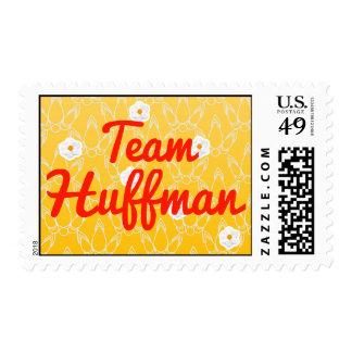 Team Huffman Postage
