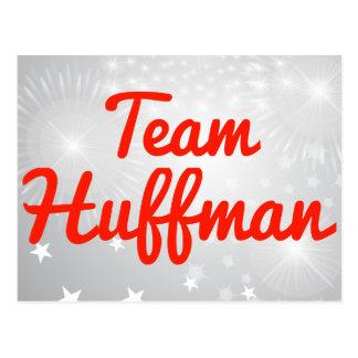 Team Huffman Postcards