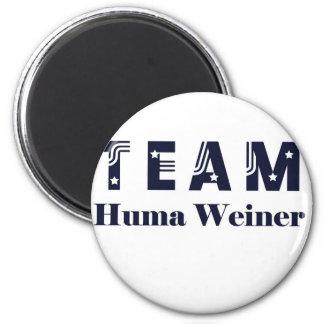 TEAM Huma Weiner 2 Inch Round Magnet