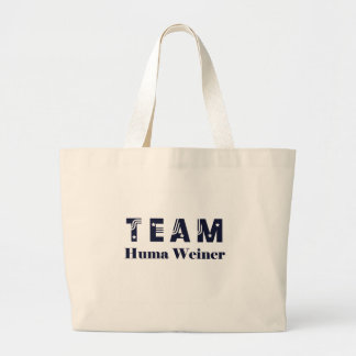 TEAM Huma Weiner Tote Bags