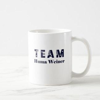 TEAM Huma Weiner Classic White Coffee Mug