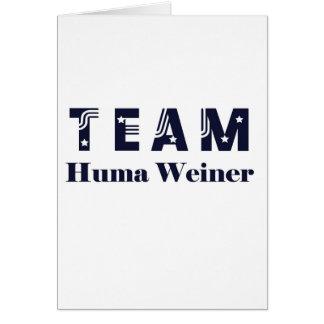 TEAM Huma Weiner Greeting Cards