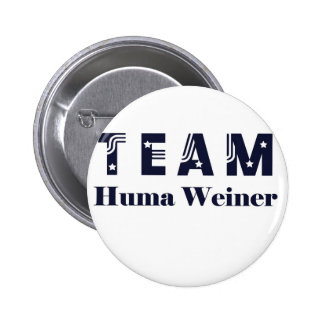 TEAM Huma Weiner Pinback Button