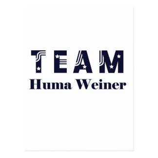 TEAM Huma Weiner Post Cards