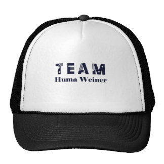 TEAM Huma Weiner Trucker Hat