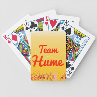 Team Hume Bicycle Playing Cards