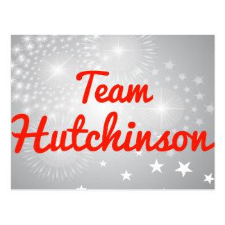 Team Hutchinson Postcard