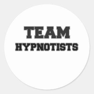 Team Hypnotists Stickers