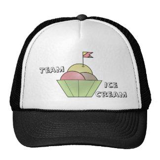 Team Ice Cream cap Trucker Hat