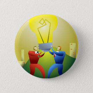 Team Idea Pinback Button