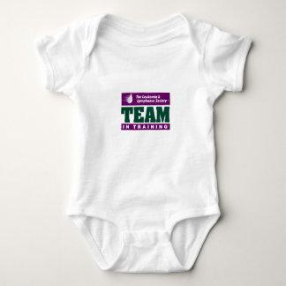 Team in training baby bodysuit