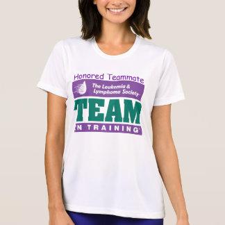 Team In Training Honored Teammate short sleeve T-Shirt