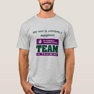 Team in training, My son is running a marathon! T-Shirt