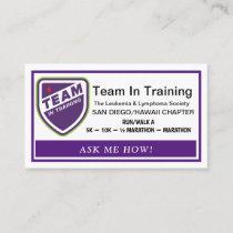 Team in Training Recruitment Cards
