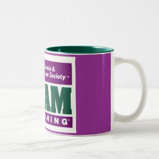 Team in training Two-Tone coffee mug