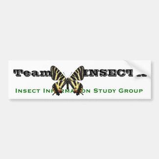 Team INSECTA gihuchiyou IISG Bumper Sticker