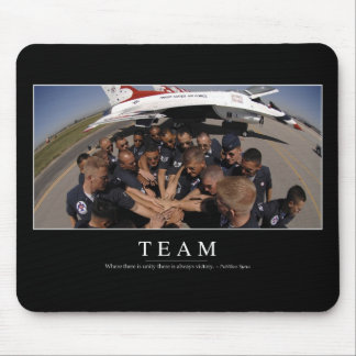 Team: Inspirational Quote 2 Mouse Pad