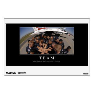 Team: Inspirational Quote 2 Wall Sticker