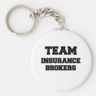 Team Insurance Brokers Keychain