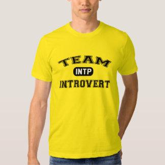 Team Introvert: INTP Tee Shirt