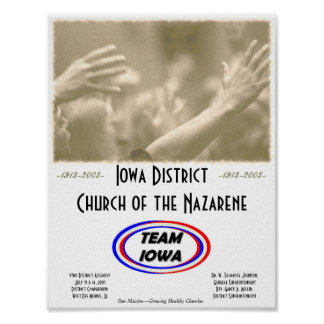 Team Iowa Print