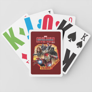 Team Iron Man Characters Bicycle Playing Cards