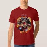 Team Iron Man Characters T-Shirt