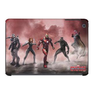 Team Iron Man Lineup iPad Mini Case