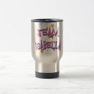 TEAM ISABELLA Customizable Travel Mug