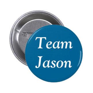 Team Jason badge Buttons