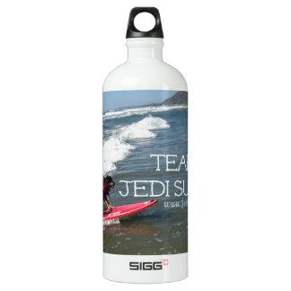 Team Jedi Surfs Line Aluminum Water Bottle