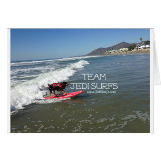 Team Jedi Surfs Line Card
