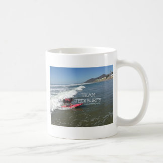 Team Jedi Surfs Line Coffee Mug