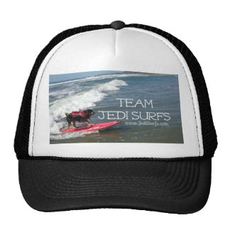 Team Jedi Surfs Line Trucker Hat