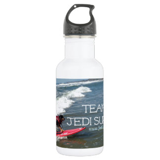 Team Jedi Surfs Line Water Bottle