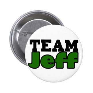 Team Jeff 2 Inch Round Button