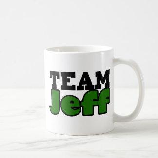 Team Jeff Classic White Coffee Mug