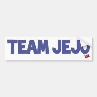 Team JeJo Bumper Sticker Car Bumper Sticker